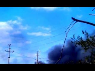 Пожар на пиротехническом складе